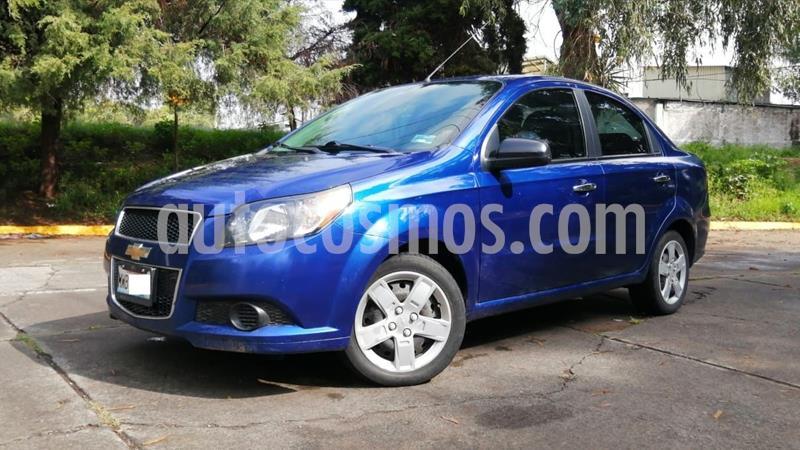 Chevrolet Aveo LT Aut usado (2016) color Azul precio $129,000