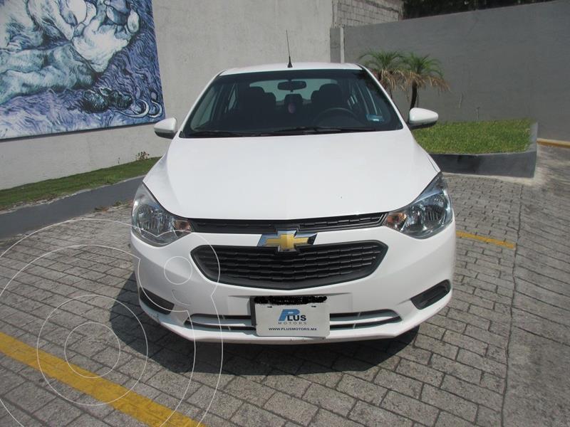 Foto Chevrolet Aveo LT usado (2018) color Blanco precio $169,000