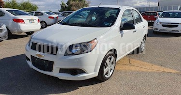 Chevrolet Aveo 4p LT L4/1.6 Aut usado (2017) color Blanco precio $119,800