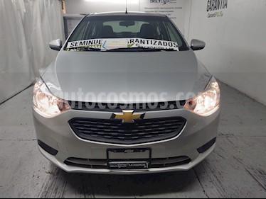 Chevrolet Aveo LS Aa usado (2019) color Plata Brillante precio $159,000