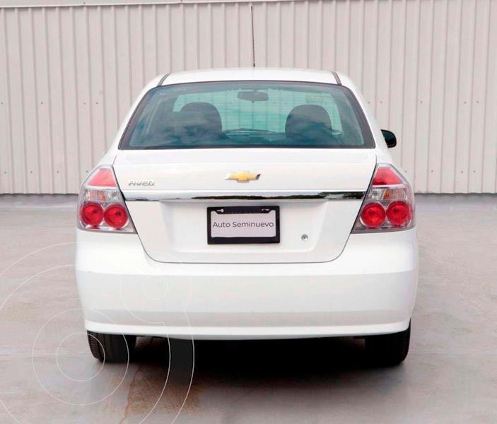 Foto Chevrolet Aveo LS usado (2018) color Blanco precio $148,500