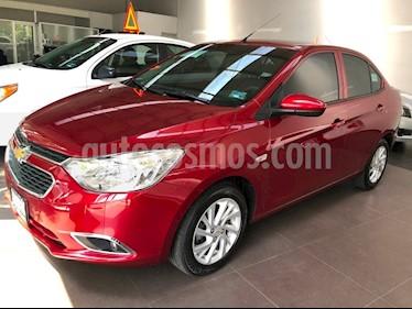 Chevrolet Aveo LTZ usado (2018) color Rojo precio $230,000