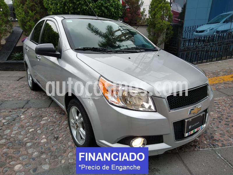 Chevrolet Aveo LTZ usado (2015) color Plata precio $28,750
