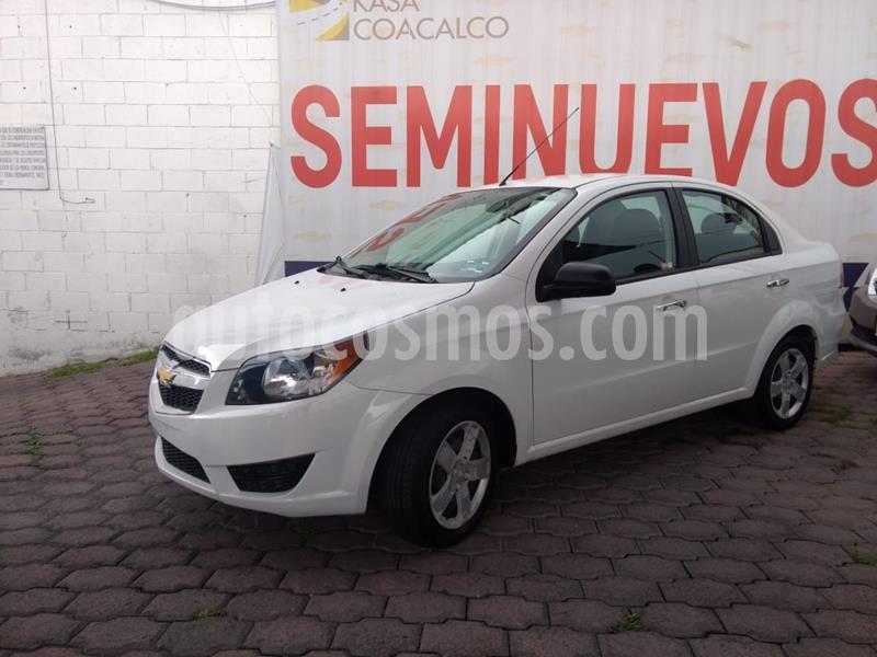Chevrolet Aveo LT Aut usado (2018) color Blanco precio $140,000
