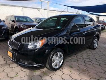 Chevrolet Aveo 4P LS TA A/AC CD R-14 usado (2016) color Negro precio $140,000
