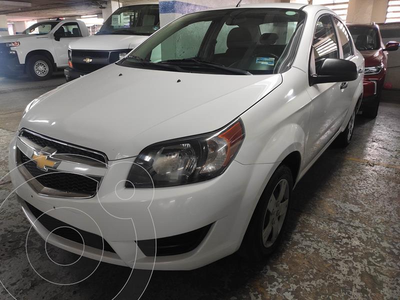 Chevrolet Aveo LS usado (2018) color Blanco precio $125,500