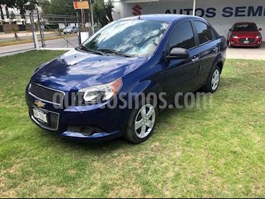 Chevrolet Aveo 4p LT L4/1.6 Man usado (2017) color Azul precio $147,000