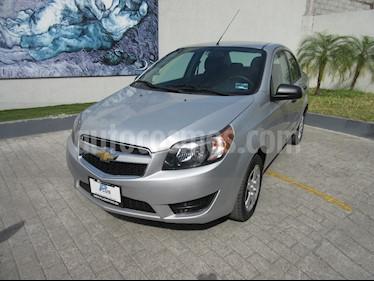 Chevrolet Aveo Paq C usado (2017) color Plata precio $135,000