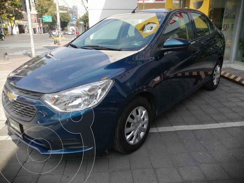 Chevrolet Aveo Paq B usado (2020) color Azul precio $199,000