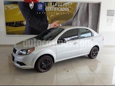 Chevrolet Aveo 4p LT L4/1.6 Man usado (2017) color Plata precio $160,900