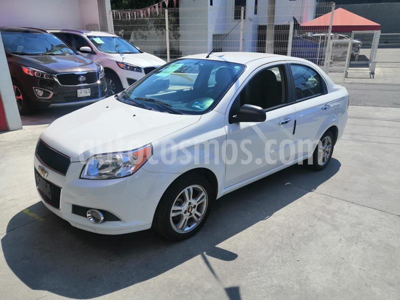 Chevrolet Aveo LTZ usado (2017) color Blanco precio $155,000
