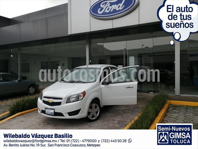 Chevrolet Aveo LT usado (2017) color Blanco precio $123,000