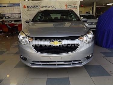 Chevrolet Aveo LTZ Aut usado (2018) color Plata precio $185,000