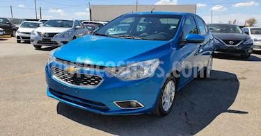 Chevrolet Aveo 4p LTZ L4/1.5 Aut usado (2018) color Azul precio $159,900