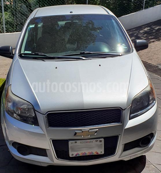 Chevrolet Aveo Paq M usado (2012) color Plata precio $60,000