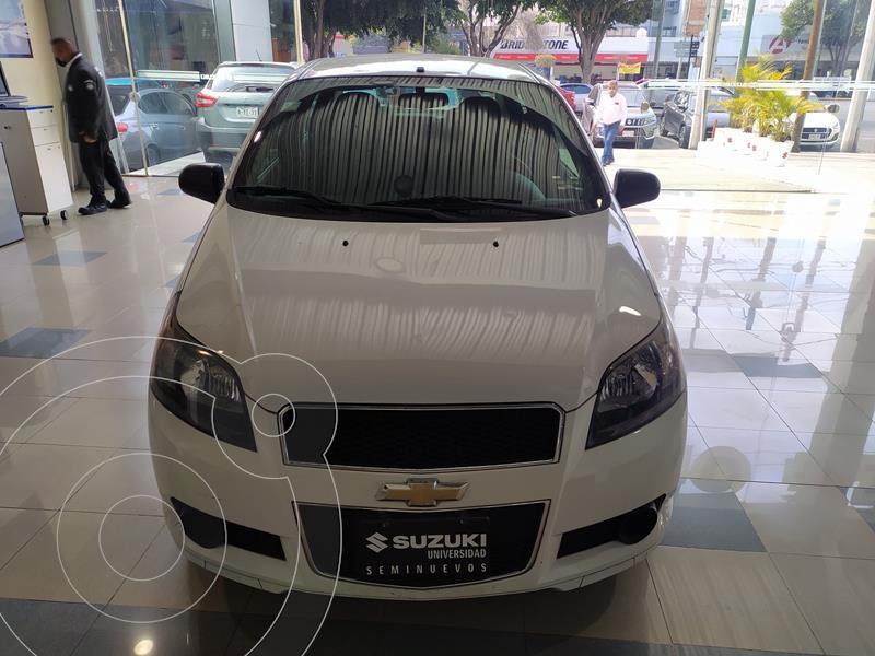 Foto Chevrolet Aveo Paq M usado (2015) color Blanco precio $105,000