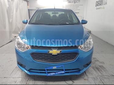 Chevrolet Aveo LT Aut usado (2019) color Azul Acero precio $189,000