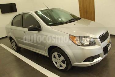 Chevrolet Aveo 4p LT L4/1.6 aut usado (2014) color Plata precio $119,000