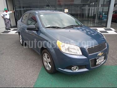 Chevrolet Aveo LTZ Aut usado (2012) color Azul precio $85,000