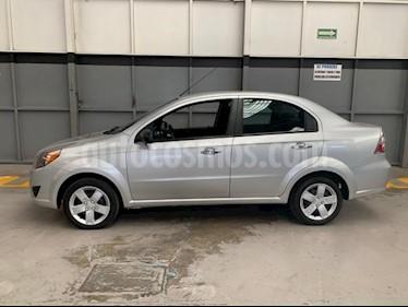 Chevrolet Aveo 4P LT AT A/AC. AUT. F. NIEBLA RA-15 usado (2018) precio $155,000