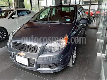 Chevrolet Aveo LS Aut usado (2017) color Gris precio $111,000