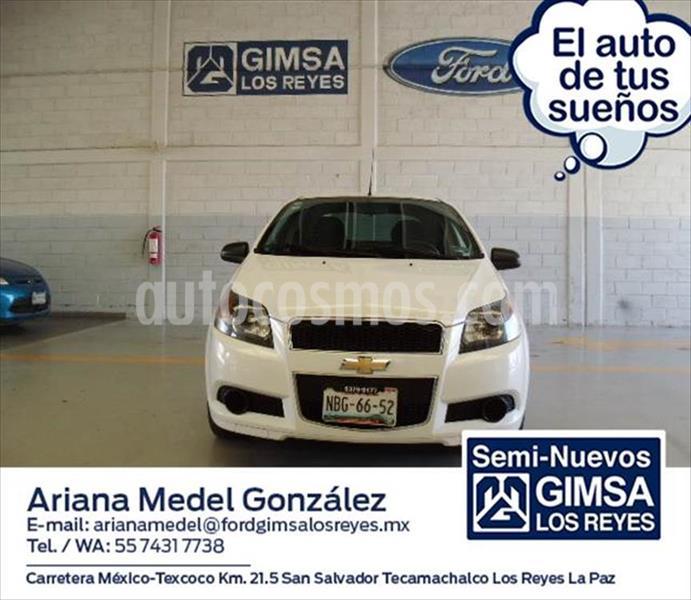 Chevrolet Aveo LS, MANUAL CON A/A Y RADIO usado (2017) color Blanco precio $120,000