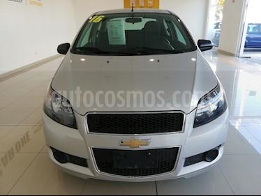 Foto Chevrolet Aveo Paq C usado (2016) color Plata precio $139,000