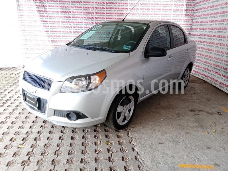Chevrolet Aveo LT usado (2016) color Plata Brillante precio $125,000