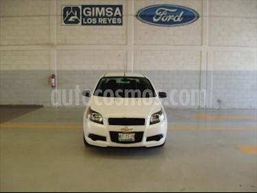 Chevrolet Aveo 4P LS L4/1.6 MAN usado (2017) color Blanco precio $120,000