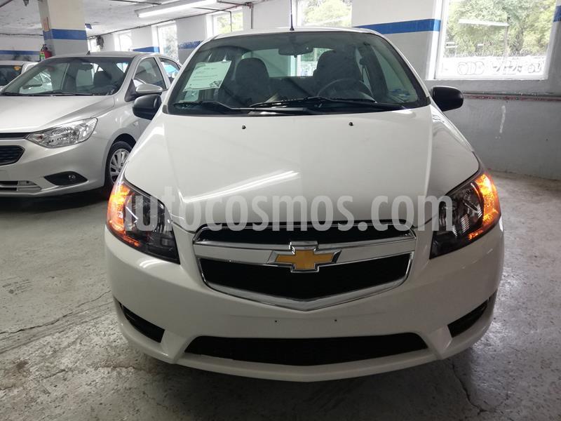 Chevrolet Aveo LS usado (2017) color Blanco precio $119,900