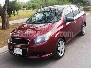 Chevrolet Aveo LT Aut usado (2014) color Vino Tinto precio $102,000