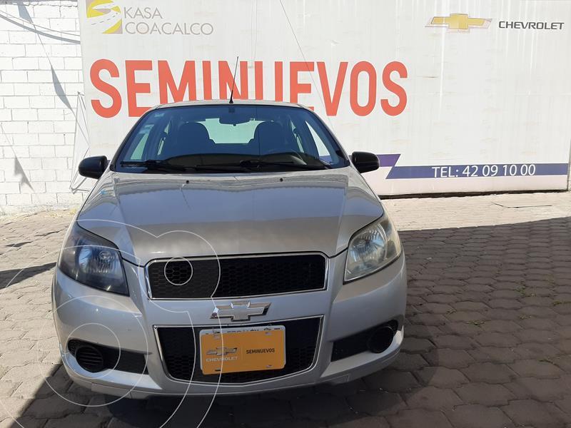 Foto Chevrolet Aveo LS Aa usado (2016) color Plata Dorado precio $135,000