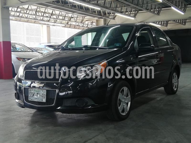 Chevrolet Aveo LS Aut (Nuevo) usado (2015) color Negro precio $115,000