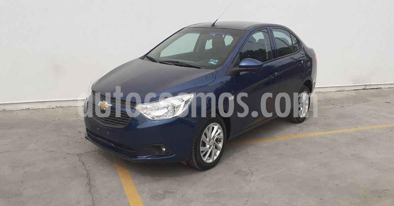 Chevrolet Aveo Paq D usado (2020) color Azul precio $179,900