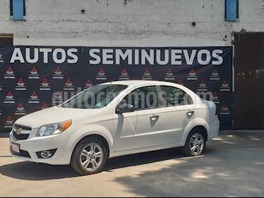 Chevrolet Aveo LTZ Aut usado (2018) color Blanco precio $150,000