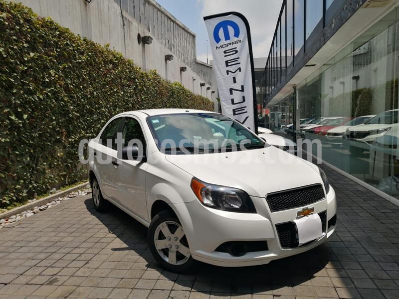 Chevrolet Aveo LS Aa usado (2016) color Blanco precio $126,400