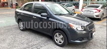 Chevrolet Aveo 4P LS TA A/AC CD R-14 usado (2016) color Gris precio $130,000