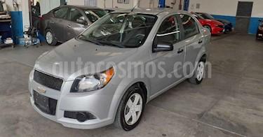Chevrolet Aveo 4 pts. LS J AT usado (2016) color Plata precio $79,900