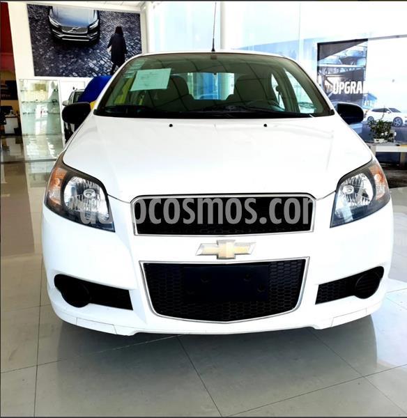 Chevrolet Aveo Paq B usado (2015) color Blanco precio $128,000