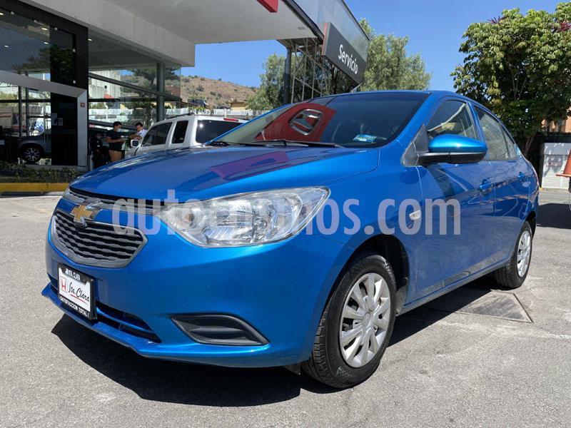 Chevrolet Aveo LS usado (2019) color Azul precio $165,000