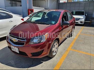 Foto Chevrolet Aveo 4 pts. LT W MT usado (2017) color Rojo precio $134,000
