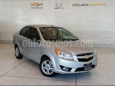 Chevrolet Aveo LTZ Aut usado (2017) color Plata precio $159,000