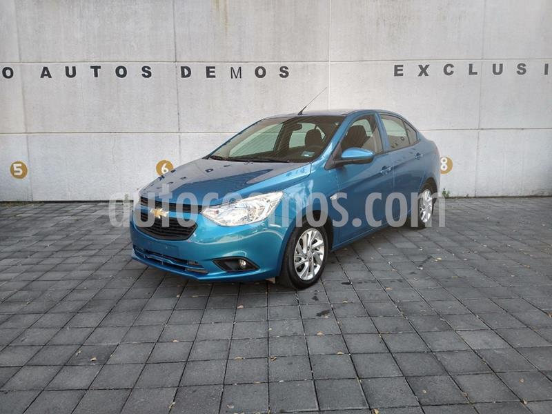 Chevrolet Aveo LT Aut usado (2019) color Azul precio $185,000