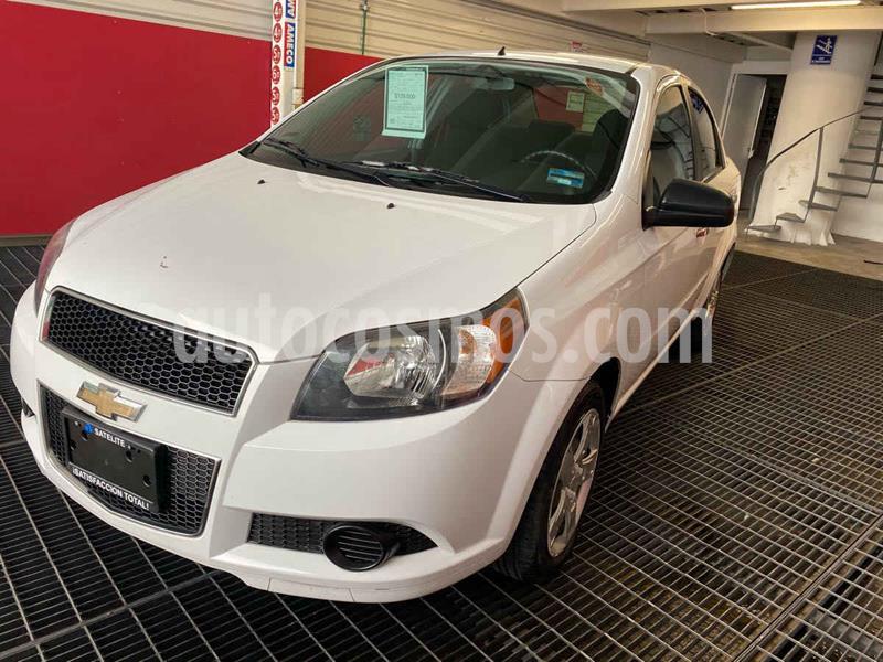 Chevrolet Aveo LT Plus usado (2016) color Blanco precio $120,000