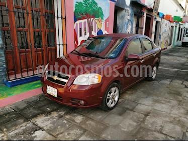 Chevrolet Aveo LT Bolsas de Aire y ABS (Nuevo) usado (2011) color Rojo Tinto precio $80,000