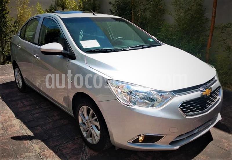 Chevrolet Aveo LTZ Aut usado (2019) color Plata Brillante precio $179,999