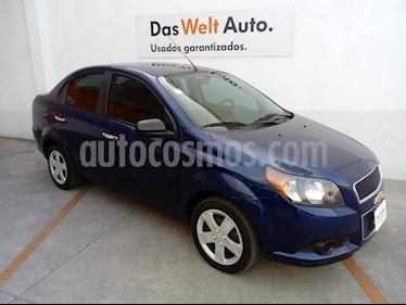 Chevrolet Aveo LT usado (2017) color Azul Metalico precio $149,000