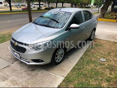 Chevrolet Aveo LT Aut usado (2019) color Plata precio $185,000