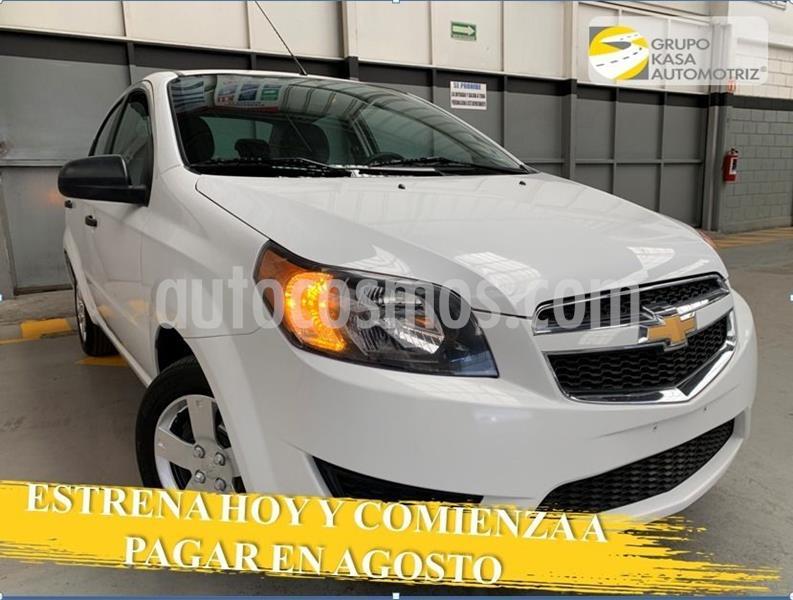 Chevrolet Aveo LS Aa usado (2017) color Blanco precio $120,000