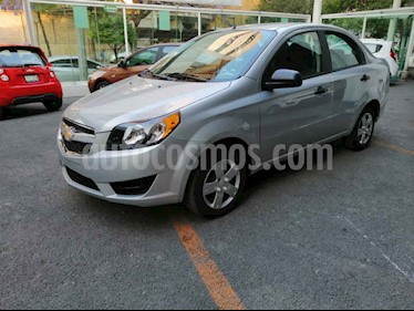 Chevrolet Aveo 4p LS L4/1.5 Man usado (2018) color Plata precio $129,000